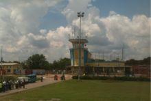 Lubumbashi International Airport is an airport in Lubumbashi, Democratic Republic of the Congo
