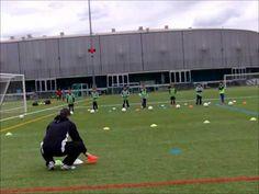Soccer Drills For Kids, Football Drills, Kids Soccer, Fc Barcelona, Best Football Skills, Train Info, Soccer Pictures, Soccer Training, Trainers