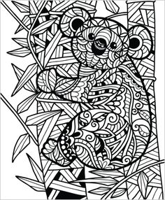 If you love coloring animals, then this is the book for you! Our Wild Animals coloring book for adults was designed in a Zentangle inspired style. All 50 pages are packed with original hand drawn desi