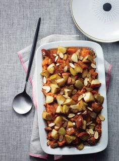 Sweet Potato and Apple Casserole - Add a nutritious kick to your Thanksgiving feast.