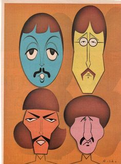 The Beatles by Risko