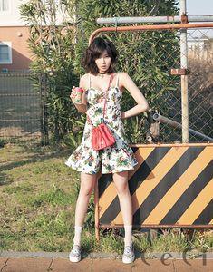 HyunA (4MINUTE) - Photoshoot magazine Céci Mai 2014 (2) - Soompi France