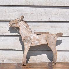 Folk Art Weather Timber Horse