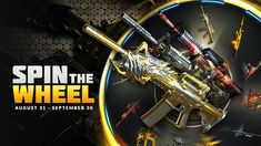Spin The Wheel: Every Weekend in September! Every Weekend, Predator 1, Roblox Gifts, Best Comments, Crossfire, Weapons Guns, Kaneki, Spinning, Vip