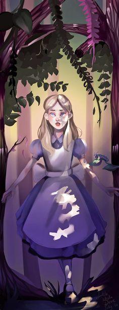 Alice in Wonderland (Speedpaint!) by PresleyGirl on DeviantArt