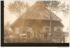 Germany, photo postcard of family - echte photographier - to identify