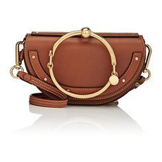 Chloé Women's Faye Small Shoulder Bag (88.235 RUB) ❤ liked on Polyvore featuring bags, handbags, shoulder bags, tan, brown shoulder bag, shoulder strap bags, shoulder handbags, brown purse and shoulder strap handbags