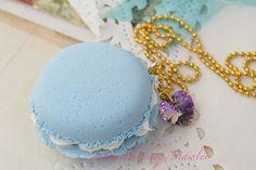Macaron Jewelry Necklace/Key Chain /Bag Charm by Siawlei on Etsy, $15.80