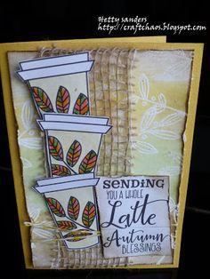 Handmade card by Hetty using the Latte Love digital set from Verve. #vervestamps