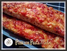 Pizza al pomodoro con Pasta Madre