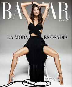 World Country Magazines: Fashion Model, Actress @ Isabeli Fontana by Alique for Harper's Bazaar Spain, April 2015