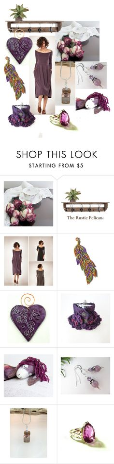 """Some Quiet Time"" by inspiredbyten ❤ liked on Polyvore featuring Verso, Bertha and vintage"