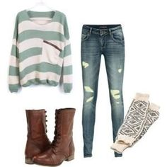 teenage outfits for school - Google Search