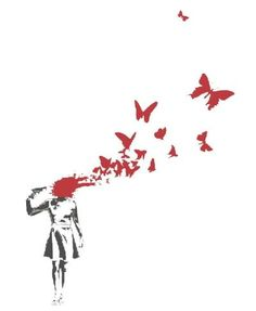 butterfly-suicide-by-banksy.jpg Photo: This Photo was uploaded by atomikblondee. Find other butterfly-suicide-by-banksy.jpg pictures and photos or uploa...