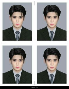 cr: on pict💞 Taeyong, Nct 127, Id Photo, Pass Photo, Valentines For Boys, Jung Jaehyun, Jaehyun Nct, Entertainment, Mug Shots