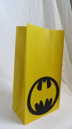 Batman  Party Bags  12 Bags by JazzyBug on Etsy, $20.00