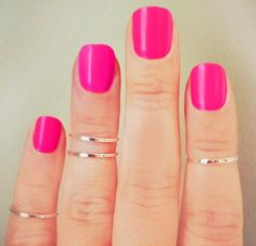 Knukcle Stacking Rings