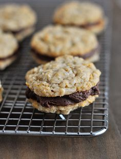 fudge filled double cruncher cookies // mels kitchen cafe