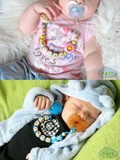 Porta chupetes personalizados bebé chupete Clip por PaffToys