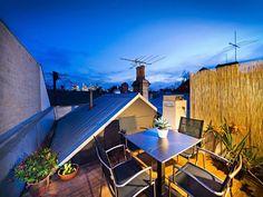 I want a roof porch.