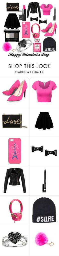 """Happy Valentine's Day"" by corgiorgy on Polyvore featuring Nine West, Lanvin, Casetify, Marc by Marc Jacobs, Temperley London, Clinique, La Vie en Rose, Ice, NYX and women's clothing"