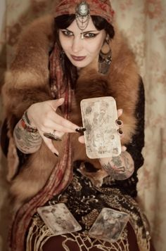 Vintage Tarot Card Reader 2013 Halloween The Ecology Box