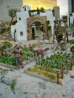 Polymer Clay Miniatures, Home Crafts, Nativity, Christmas Gifts, Bethlehem, House Styles, Building, Egyptian, Portal