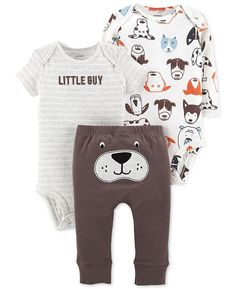 4pc bébé garçon//fille unisexe fantaisie girafe design baby set babygrow