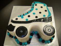 Rollerskate cake! by Retro Bakery in Las Vegas, via Flickr