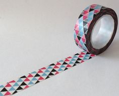 SALE Washi Tape Mardi Gras In Pink and Blue 10 by MechaKucha808