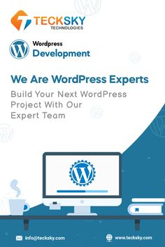 Looking for #WordpressDevelopmentServices to Maximize Your Online Business? Well look no further, @tecksky offer a Custom, WordPress Plugin, CMS, and Theme Customization. Affordable WordPress Support Services. Our dedicated team the latest #technologies and #market #trends that enable them to deliver unique #WPSolution. #wordpress #webdevelopment #development #wordpresswebsite #wordpressdeveloper #WebDev #website #webdevelopmentcompany #tecksky #teckskytechnologies #wordpressdevelopment Wordpress Plugins, Wordpress Theme, Wordpress Support, Market Trends, Web Development Company, Mobile App, Online Business, Technology, Marketing