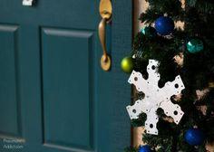 Strap Ties Snowflake