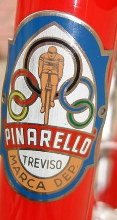 Pinarello Head Badge. Can be bought as a decal and stuck on before finishing. However a real metal badge would be better.
