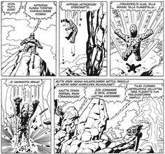 Ikävät suunnitelmat näillä kavereilla. #Egmont #Marvel #Thor #kirjamessut #JackKirby