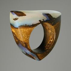 Boulder Opal by Karen Vasconi