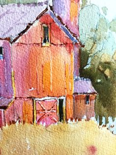 Original Painting by Joyce Hicks, AWS