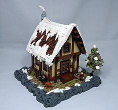 ~ Lego Mocs Holidays ~ But The Bard's Song Will Remain… Lego Christmas, Xmas, Lego Calendar, Lego Minion, Lego Winter Village, Lego Castle, Winter's Tale, Lego House, Lego Building