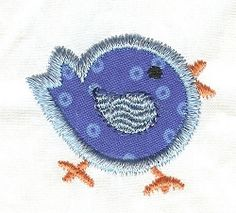Itty Bitty Bird Applique | Mini Designs | Machine Embroidery Designs | SWAKembroidery.com Designs by Juju