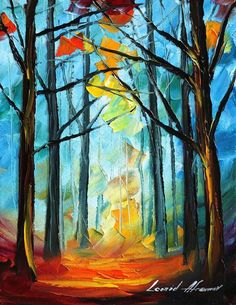 WISE FOREST - LEONID AFREMOV by *Leonidafremov on deviantART