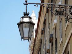Candeeiro de Rua com Heráldica da cidade de Lisboa, Portugal