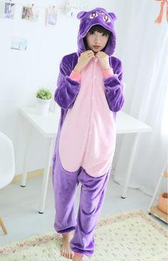 Sailor Moon Cat Luna Animal Onesie Costume Pajamas Hoodie Kigurumi Кошачьи  Костюмы 9726f77c2dc53