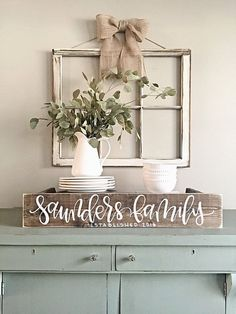 """$28.50 · Family name sign, wood established sign, last name sign SIZE: 6"""" tall by 30"""" wide (All sizes are approximate) DETAILS: This listing is for a custom wood sign which has been stained on both sides with a medium/dark walnut stain, sanded and distressed around the edges, and hand painted in my own handwriting! No fonts, stencils, or vinyl are used on any of my signs which makes each sign unique and unlike any other! Please be sure to utilize the NOTES section at checkout to incl.."""