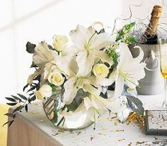 Dicas de decoração para você se inspirar e fazer a sua mesa de festa de Ano Novo (Reveillon), confira!