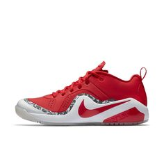 new product 38eb0 a8984 Nike Force Zoom Trout 4 Men's Turf Baseball Shoe Size 14 (Red) Baseball  Shoes