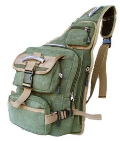 Digital Pixel Camouflage Army Military Backpack - Single Strap ...