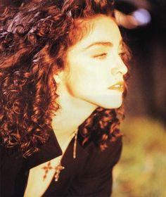 """Madonna photographed by Alberto Tolot on set of Like a Prayer, 1989 """