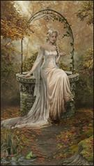 SciFi and Fantasy Art The Well of my Desires by Cris Ortega Fantasy Women, Fantasy Art, Cris Ortega, Foto Art, Victorian Women, Wishing Well, Faeries, Vintage Images, Pretty Pictures