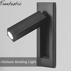 Bedside reading wall lamp LED Recessed Wall lamp Hotel room LED indoor light rotating folding wall lamp LED Indoor Wall Lamps from Lights & Lighting on AliExpress - Day Recessed Wall Lights, Bedside Wall Lights, Headboard With Lights, Bedside Lighting, Modern Wall Lights, Led Wall Lamp, Sconce Lighting, Wall Sconces, Bedside Reading Light