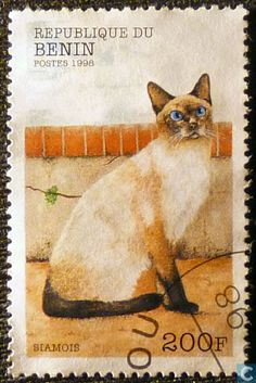Postage Stamps - Benin [BEN] - Cat Breeds