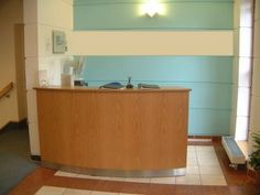 Small Office Reception Area | HK Studio Reception Desks - Bespoke receptions